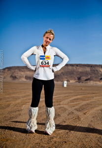 Six marathons, one desert. Madness